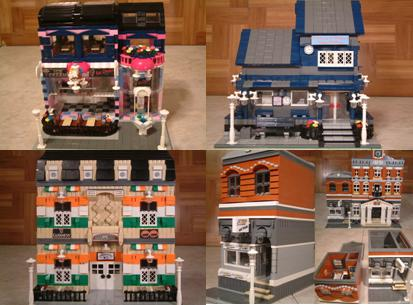 Modular Lego Bicycle Shop - Custom Lego Bicycle Shop