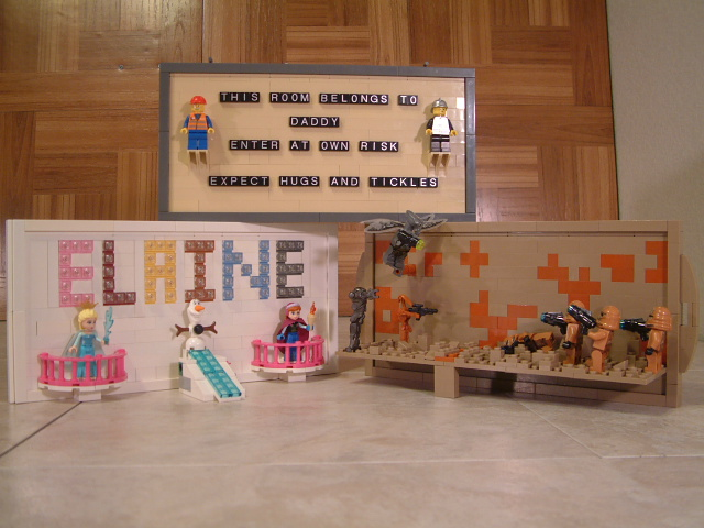 Custom Lego Decorations, popular Lego theme mocs, custom lego frames