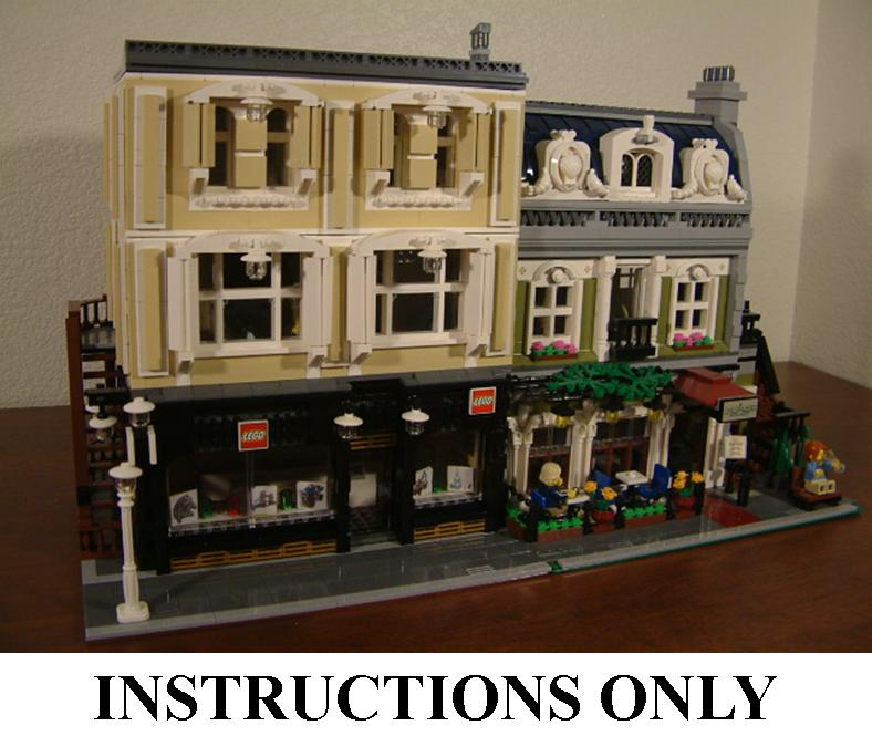 lego modular moc instructions