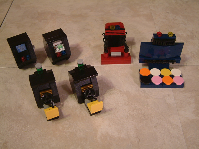 lego jukebox & arcade games