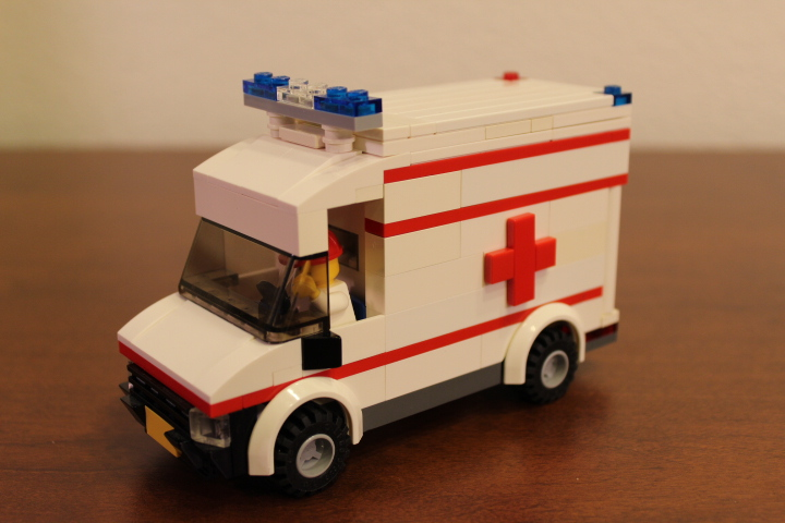 Lego City Ambulance Instructions