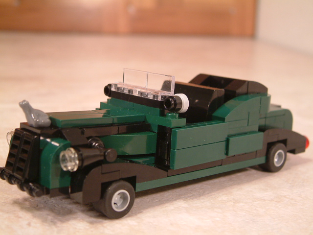 Custom Lego MOC classic cars. Vintage classic lego cars and vehicles.