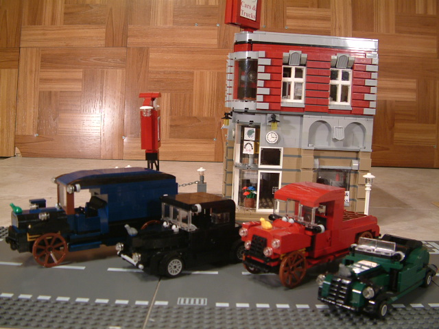 Custom Lego MOC classic cars. Vintage classic custom lego cars and vehicles.