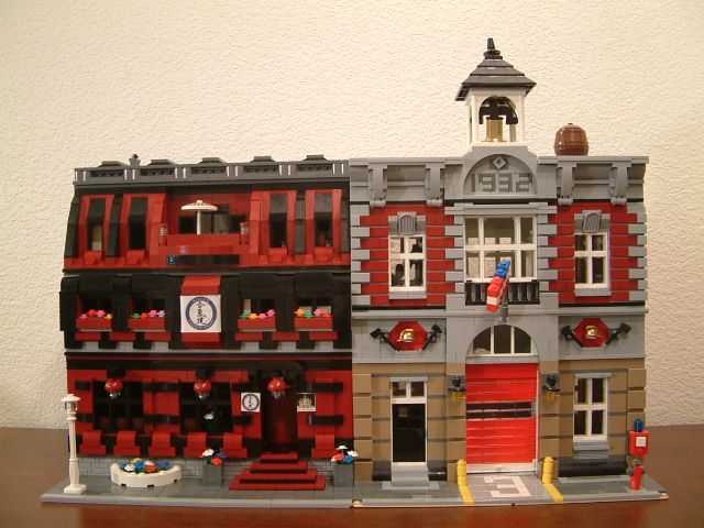 modular lego custom moc japanese martial arts gym dojo building