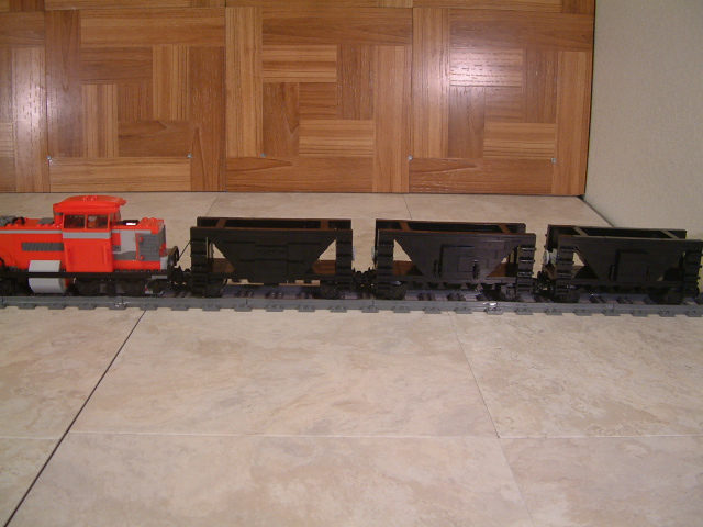 Lego coal train cars, custom lego moc train coalcars, lego moc train coal cars