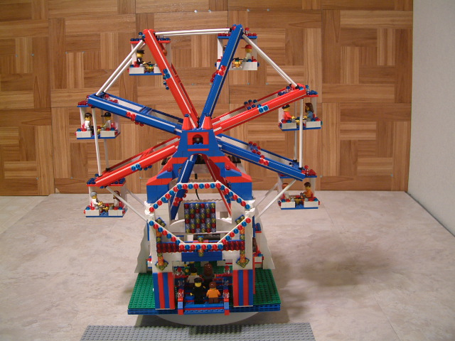 Motorized Lego Ferris Wheel - Custom Lego Ferris Wheel - Rare Lego Ferris Wheel