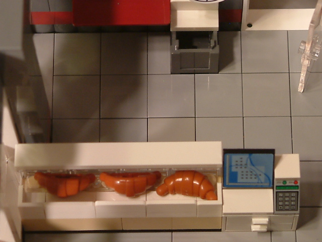 Modular Lego French Bakery - Custom Lego French Bakery Set - Rare Lego model