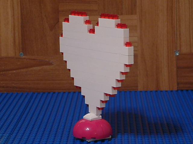 Lego hearts - Custom Lego hearts - Rare Lego model