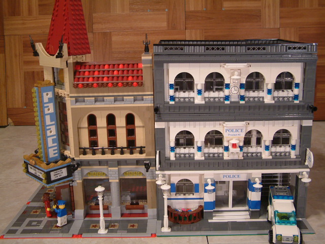 lego police station instructions