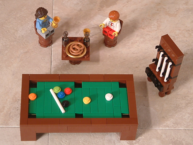Woodwork how to build a lego pool table pdf plans for How to build a billiard table
