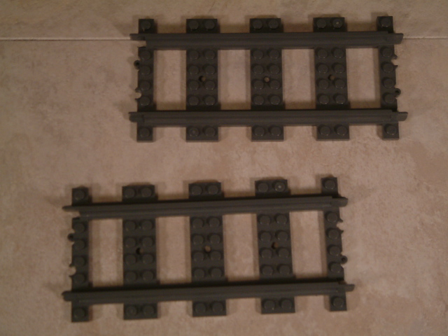 Lego train crossings, lego 90 degrees train crossings, custom lego train crossing