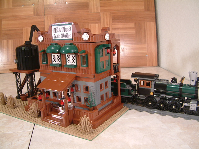Lego 79111 Constitution Train Chase