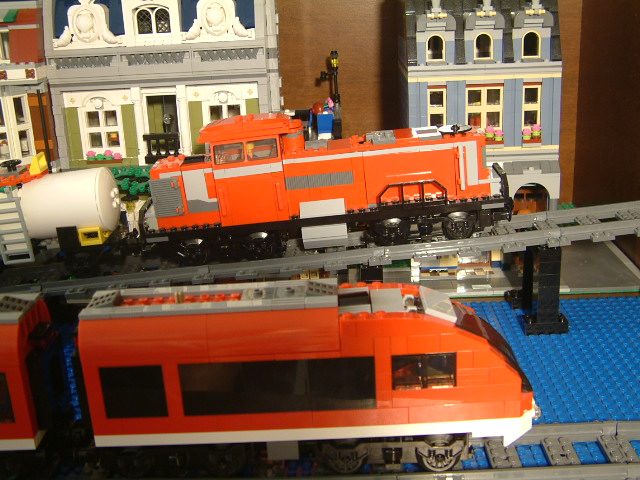 lego customized trains